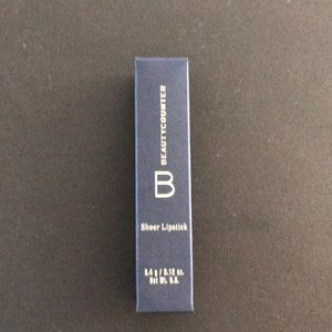 Beautycounter sheer lipstick .12oz plum